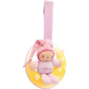 Chicco Подвеска для кроватки Спокойной ночи розовая (24261) игрушка подвеска chicco игрушка проектор для кроватки бэмби