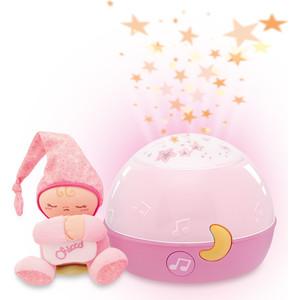 Chicco Ночник-проектор музыкальный ''Первые грёзы'' розовый (24271)