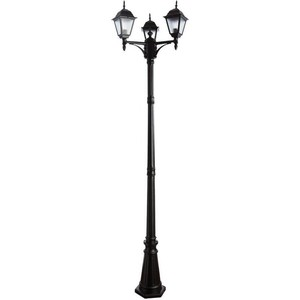 Уличный фонарь Artelamp A1017PA-3BK