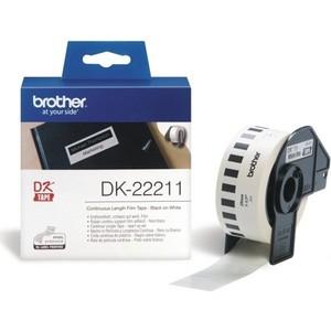 Клеящаяся лента Brother DK22211 цена 2017