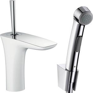 Смеситель для раковины Hansgrohe Puravida с гигиеническим душем (15275400) смеситель для биде smartsant тренд sm054005aa
