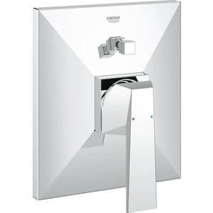 Смеситель для ванны Grohe Allure brilliant накладная панель (19785000) grohe allure 32147000 для биде