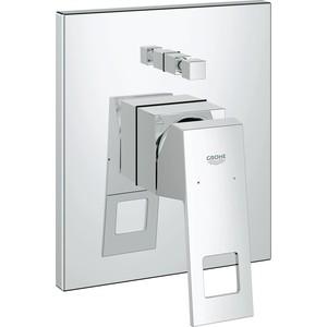 где купить Смеситель для ванны Grohe Eurocube накладная панель (19896000) по лучшей цене