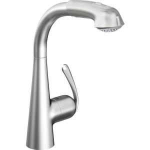 Смеситель для кухни Grohe Zedra нержавеющая сталь (32553SD0) grohe zedra 32553sd0 для кухонной мойки