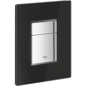 Фотография товара клавиша смыва Grohe Skate Cosmopolitan стеклянная поверхность черный (38845KS0) (135036)