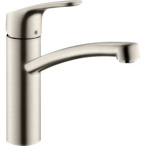 Смеситель для кухни Hansgrohe Focus E2 сталь (31806800) cvd znse co2 laser focus lens with diameter 18mm focus length 38 1mm thickness 2mm