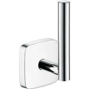 Держатель туалетной бумаги Hansgrohe PuraVida для запасного рулона (41518000) держатель туалетной бумаги hansgrohe puravida для запасного рулона 41518000