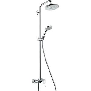 Душевой набор Hansgrohe Croma 220 showerpipe reno (27222000) магазин где можно купить машину reno
