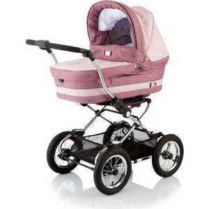 Baby Care Коляска Sonata (dark/red/pink)