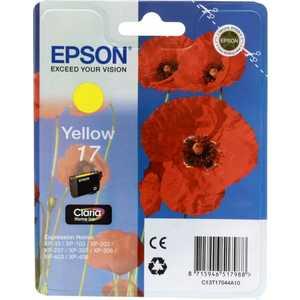 Картридж Epson magenta XP33/203/303 (C13T17034A10) картридж струйный epson c13t17134a10 пурпурный для epson xp33 203 303 450стр
