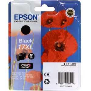 Купить картридж Epson XL Black XP33/203/303 (C13T17114A10) (135813) в Москве, в Спб и в России