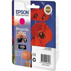 Картридж Epson XL magenta XP33/203/303 (C13T17134A10) картридж струйный epson c13t17134a10 пурпурный для epson xp33 203 303 450стр