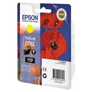 Картридж Epson XL yellow XP33/203/303 (C13T17144A10) картридж epson black xp33 203 303 c13t17014a10
