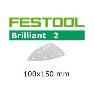 Шлифкруги Festool Brilliant2 P400 100шт STF-Delta/7 P400-BR2/100