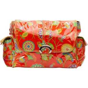 Сумка для мамы Kalencom Laminated buckle bag (gypsy rose orange)
