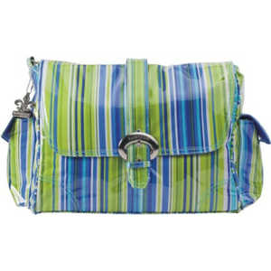 Сумка для мамы Kalencom Buckle bag jazz (stripes cobalt)