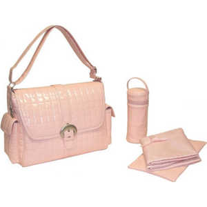 Сумка для мамы Kalencom Buckle bag monique (powder pink)