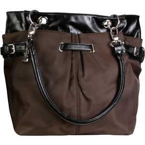 Сумка для мамы Kalencom Ultimate tote nylon (chocolate/black)
