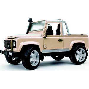 Купить внедорожник-пикап Bruder 1:16 Land Rover Defender 02-591 (139414) в Москве, в Спб и в России