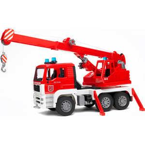 Bruder Пожарная машина автокран MAN с модулем со световыми и звуковыми эффектами 02-770