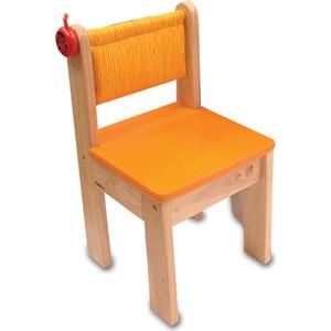 Детский стульчик I'm toy деревянный (оранжевый) 42022FR