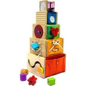 Набор развивающий I'm toy для изучения цвета/форм/размеров (дерево) 12064