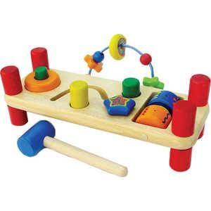 Развивающая скамейка I'm toy деревянная 22021