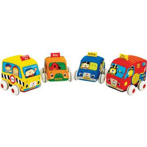 Купить k'S Kids Машинки мягкие с инерционным механизмом KA459 (139949) в Москве, в Спб и в России