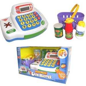 Keenway Набор-кассовый аппарат с предметами 30261 игровые наборы keenway набор кассовый аппарат