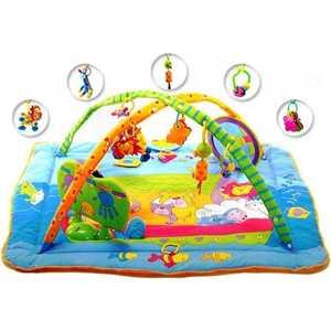 tiny love развивающий коврик разноцветное сафари tiny love Развивающий коврик Tiny love Maxi Зоосад 128002 (263)