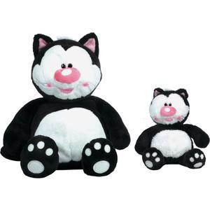 Gulliver Кот Котя, черный сидячий, 23 см 7-42809