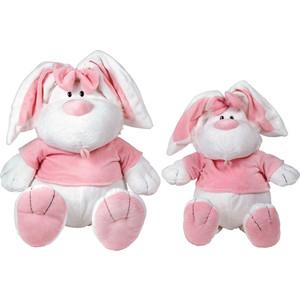 Gulliver Кролик белый сидячий, 23 см 7-42227