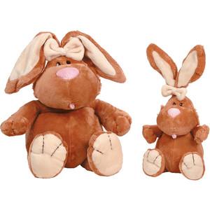 Gulliver Кролик коричневый сидячий, 23 cм 7-42044