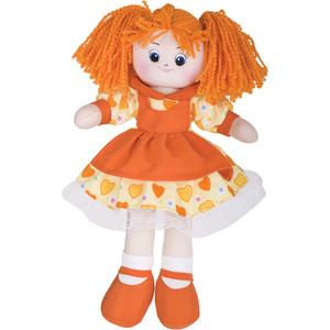 Gulliver Кукла Апельсинка в платье с сердечками 40см 30-11BAC3497 игрушка мягкая gulliver кукла хозяюшка 30см