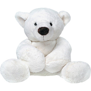 Купить gulliver Медведь белый, лежачий 23см 7-43063-1 (140861) в Москве, в Спб и в России