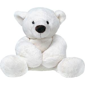 Gulliver Медведь белый, лежачий 23см 7-43063-1