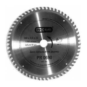 Диск пильный Prorab 300х32мм 60зубьев (PR0690) диск пильный prorab 255х25 4мм 100зубьев pr0660