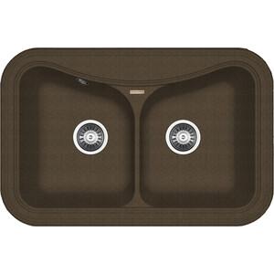 Купить мойка кухонная Florentina Крит 780 А коричневый FG (20.175.E0780.105) (141759) в Москве, в Спб и в России