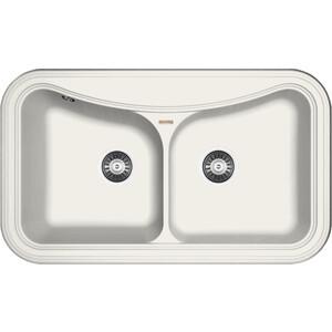 Мойка кухонная Florentina Крит 860 жасмин FS (20.115.E0860.201) кухонная мойка ukinox cmm 860 gw r