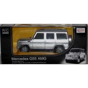 Rastar Машина на радиоуправлении 1:24 Mercedes g55 amg 30500 rastar модель автомобиля mercedes benz s63 amg цвет серебристый