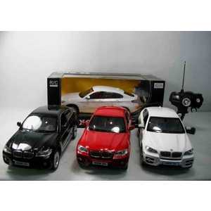 Rastar Машина на радиоуправлении 1:14 BMW x6, 45,5х21,5х19,5см 31400 машина на радиоуправлении rastar audi q7 1 24