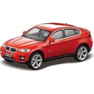 Rastar Машина металлическая 1:24 BMW x6 41500
