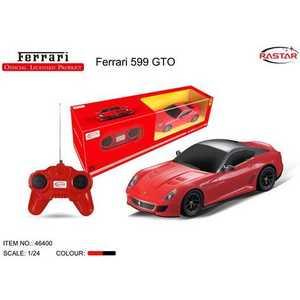 все цены на Rastar Машина на радиоуправлении 1:24 Ferrari 599 gto 46400