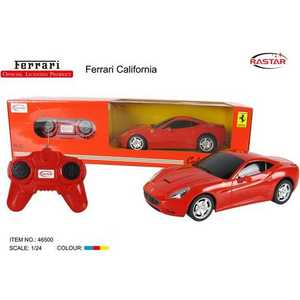 все цены на Rastar Машина на радиоуправлении 1:24 Ferrari California 46500