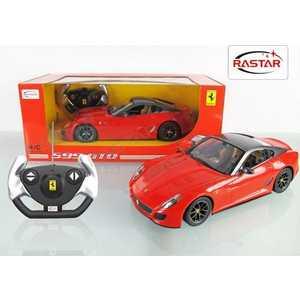 Rastar Машина на радиоуправлении 1:14 Ferrari 599 gto 47100 машина детская rastar rastar машинка на радиоуправлении ferrari 599 gto 1 24 в ассортименте
