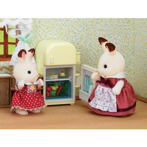 Sylvanian Families Набор Мама кролик Сильвия и холодильник 2202 sylvanian families набор мама кролик и холодильник