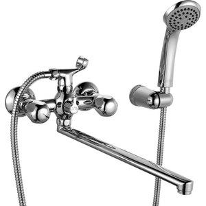 Смеситель для ванны IDDIS Classic plus с аксессуарами излив 300 мм (CLPSBL0i10) смеситель iddis classic 59000e1
