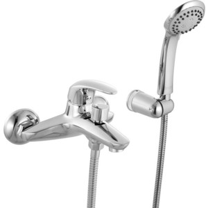 Смеситель для ванны IDDIS Leaf с аксессуарами (LEASB00I02) смеситель для ванны iddis district dissb00i02