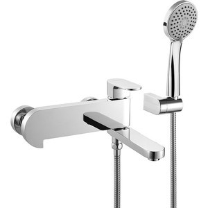 Смеситель для ванны IDDIS Mirro с аксессуарами (MIRSB00I02) смеситель для ванны smartsant модерн с аксессуарами sm143503aa
