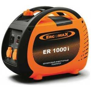 Генератор бензиновый инверторный ErgomaX ER 1000 i